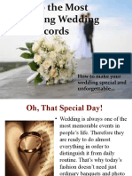 Wedding Records