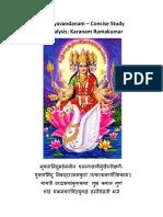 Sandhyavadanam a Concise Study