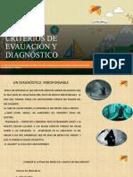 CRITERIOS DE EVAUACIÓN Y DIAGNÓSTICO.pptx