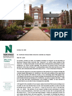 Northwest Missouri State University Have Disclosed Responsive Documents Pertaining Incidents that Occurred Between September and November 2015