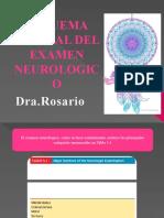 esquema de examen neurologico