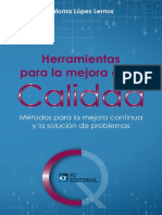 HERRAMIENTAS PARA LA MEJORA DE LA CALIDAD - PALOMA LÓPEZ