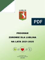 Program Zdrowie Dla Lublina Na Lata 2021-2025