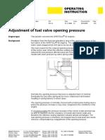 W46 Adjustment of fuel valve opening pressure 4616Q006_01gb