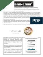 Nano-Clear - Folheto