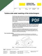 W46 Turbine side water washing of the turbochargers 4615Q002_03gb