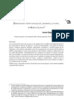 PDE14404 Dimensiones territoriales del desarrollo rural en América Latina