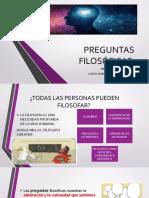 PREGUNTAS FILOSÓFICAS