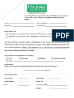 Booth Rental Registration Docs - 2020 Christmas Wonderland
