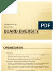 Board Diversity