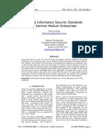 2008 Formal Information Security Standards in German Medium Enterprises.pdf
