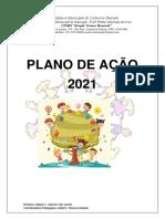 """Plano de Ação para 2021 - CEMEI """"Alayde Vianna Hummel"""""""