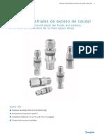 MS-01-110 - Válvulas industriales de exceso de caudaL