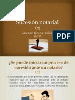 Sucesión notarial