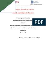 MODELO DE ORDENACIÓN DE TAREAS