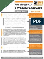 Charlotte Ballot Language Explanation