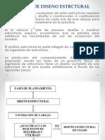 CLASE 2 ETAPAS DE DISENO ESTRCTURAL