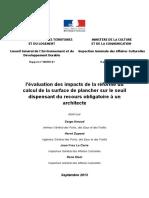 201312_Rapport2013_33_SeuilPlancher_pour_recours_a_un_architecte