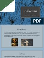 LO GROTESCO