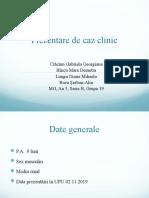 Prezentare-de-caz-clinic- Seria B,  Gr 19