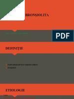 Bronșiolita