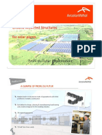 PRESENTATION PROFIL DU FUTUR SOLAR STRUCTURE