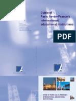 International guide school Paris Region