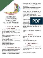 ANIMACION-PARROQUIA BUEN PASTOR 2018 final