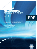 Moving Melbourne Seminar Series Invitation