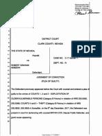 Robert Graham restitution order
