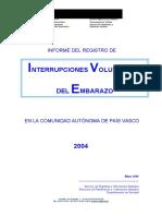 INFORME IVE 2004