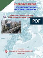 Metro Line 4A (Kasarwadavali to Gaimukh)