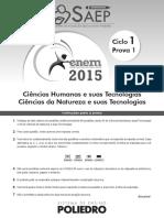 ENEM 2015 - Ciclo 1 Dia 1.pdf