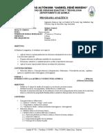 1 Programa Analítico de Quimica General