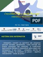 COZINHA FRIA E GARDE MANGER-ANTEPASTO
