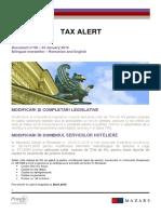 08_Mazars Tax Alert_RO_EN...23-01-2015