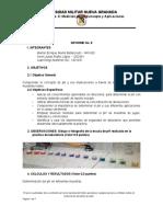 Informe #8 de quimica