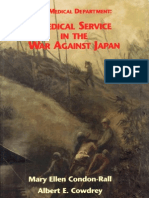 Medical Service in the War Against Japan