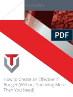 How to Create an Effective IT Budget (web)