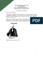 CURSO DE LITIGACION CIVIL