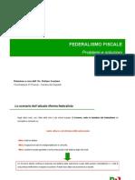 Presentazione Federalismo Fiscale