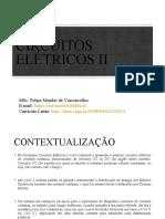Aula 1 Circuitos Elétricos II - Tensão e Corrente Alternadas.ppt
