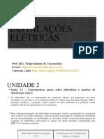 Aula 4 Instalações Elétricas - Características gerais sobre eletrodutos e quadros de distribuição (QDs)