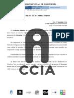 CARTA DE COMPROMISO Francisco