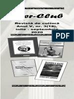 LITER-CLUB. Revistă de cultură, anul V, nr. 3(18), Iul.-Sept. 2020