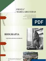 Presentacion - YAWAR FIESTA - Jose Maria Arguedas