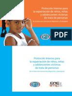 Protocolo Interno para la repatriación de niños, niñas y adolescentes víctimas de trata de personas de la Dirección General de Migración y Extranjería