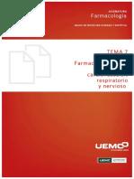 FARMACOLOGIA TEMA 7