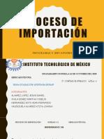 PROCESO DE IMPORTACIÓN- EQUIPO YDAK