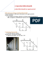 Dalles à réparation bidirectionnelle sur appuis ponctuel007